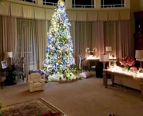 Britney Spears Christmas tree