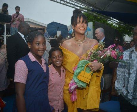 Rihanna's naming ceremony