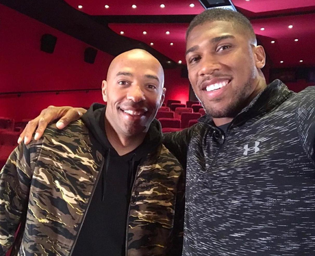 Thierry Henry and Anthony Joshua