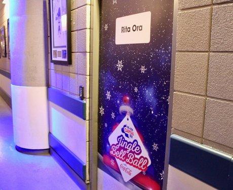#CapitalJBB Dressing Room Door - Rita Ora