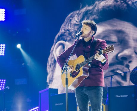 James Arthur at the Jingle Bell Ball 2017