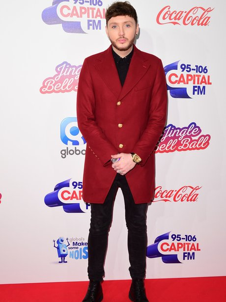 James Arthur Red Carpet Jingle Bell Ball 2017