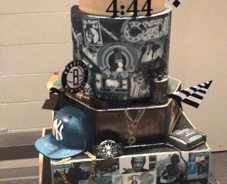 Jay-Z's birthday cake