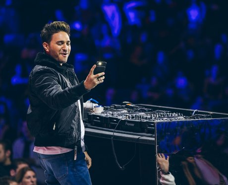 Jonas Blue at the Jingle Bell Ball 2017