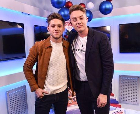 Niall Horan Backstage Jingle Bell Ball 2017