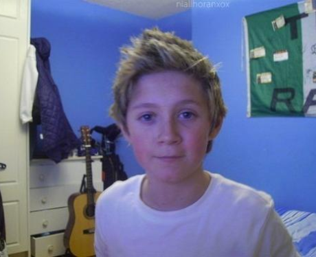 Niall Horan throwback