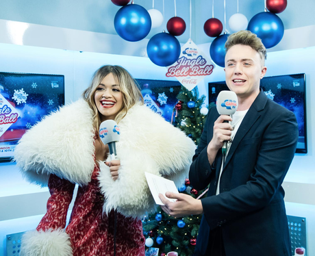 Rita Ora and Roman Jingle Bell Ball 2017 backstage
