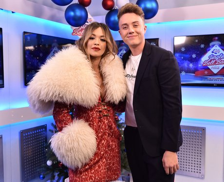 Rita Ora Backstage Jingle Bell Ball 2017