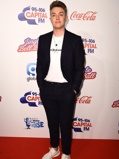 Roman Kemp Red Carpet Jingle Bell Ball 2017