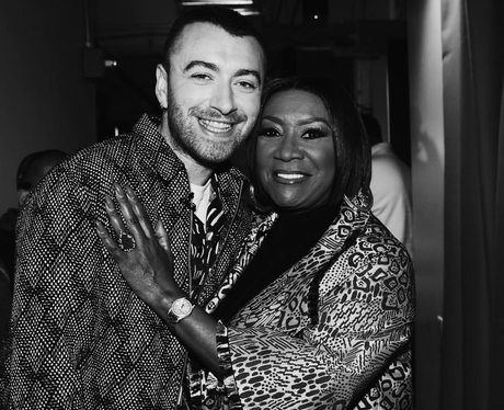 Sam Smith and Patti LaBelle