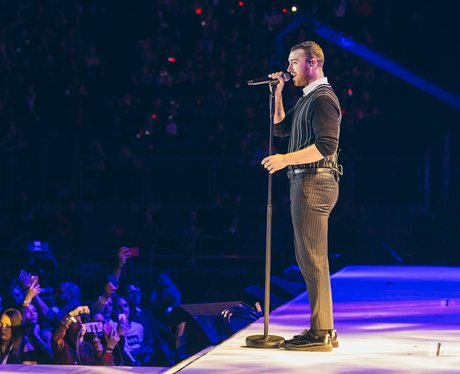 Sam Smith at the Jingle Bell Ball 2017