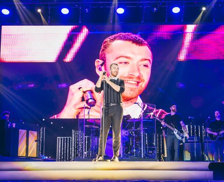 Sam Smith Jingle Bell Ball 2017 live