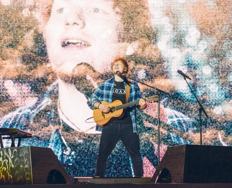 Ed Sheeran Jungle Bell Ball 2017 Live
