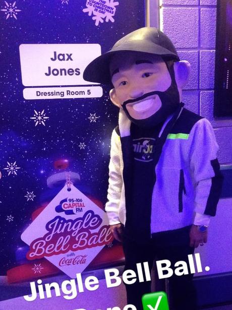 Jax Jones Jingle Bell Ball 2017 backstage