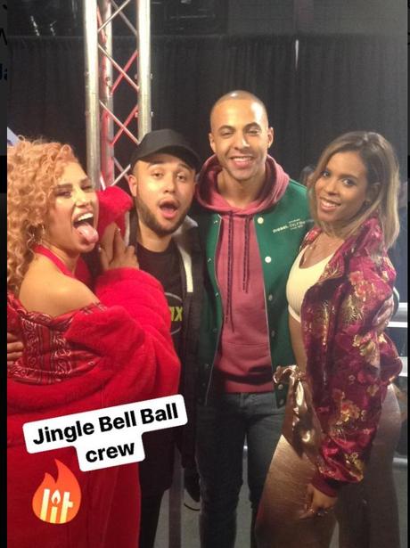 Jingle Bell Ball 2017 backstage