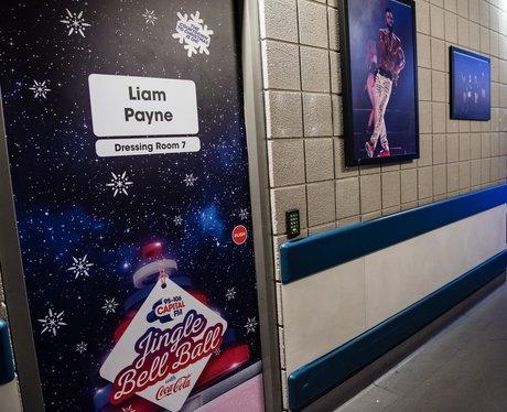 Liam Payne door Backstage Jingle Bell Ball 2017
