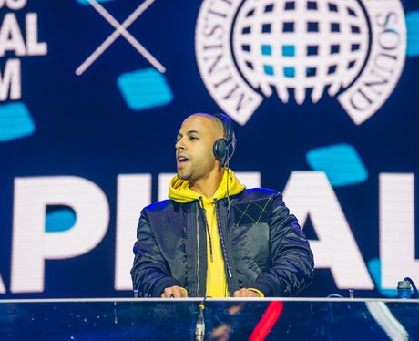 Marvin Humes at the Jingle Bell Ball 2017