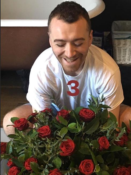 sam smith flowers