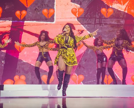 Stefflon Don at the Jingle Bell Ball 2017