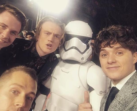 The Vamps star wars premiere