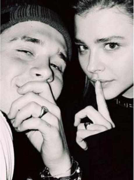 Brooklyn beckham and chloe moretz engaged?