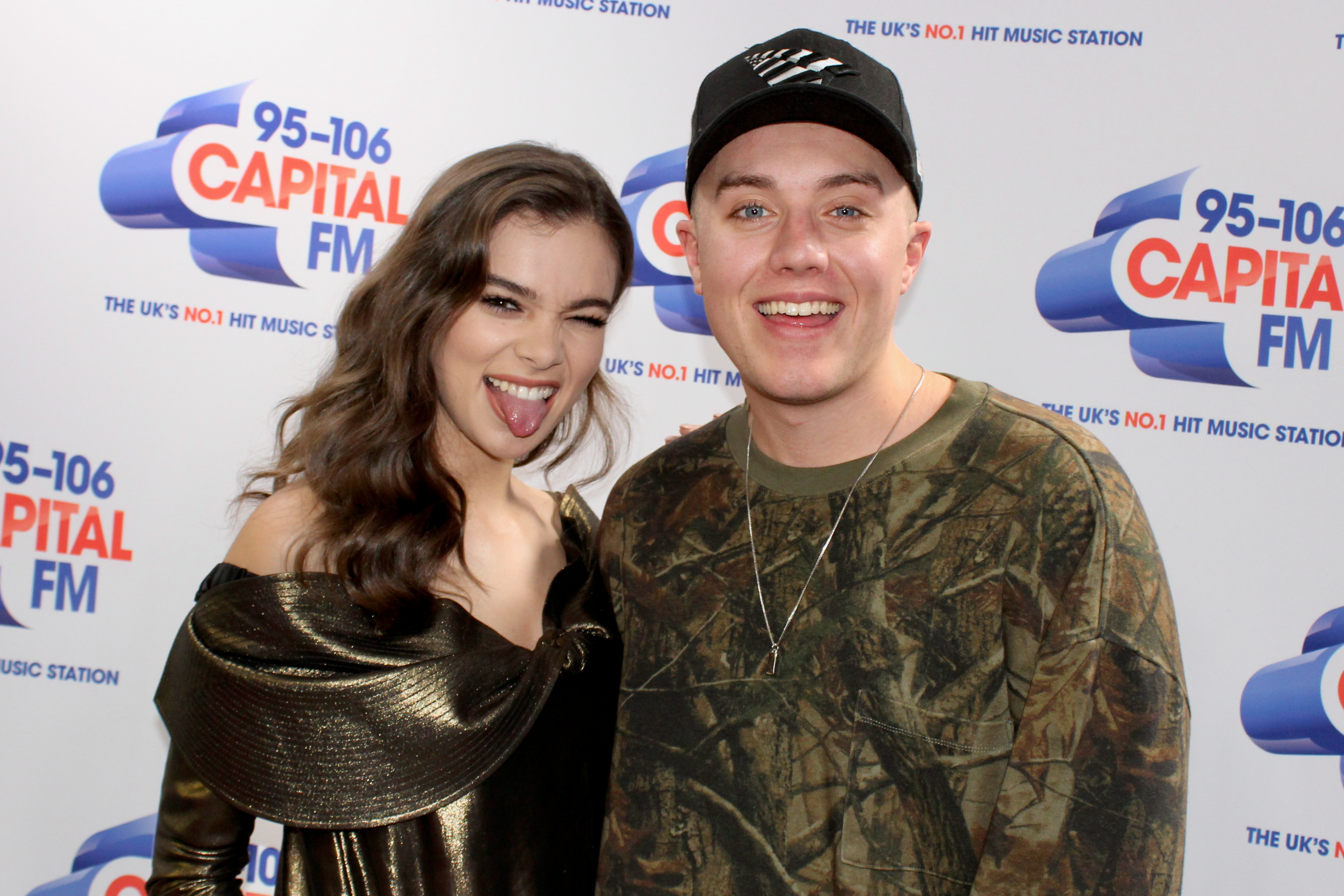 Hailee Steinfeld on Capital Breakfast Roman Kemp
