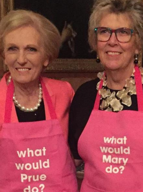 Mary Berry and Prue Leith