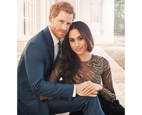 Prince Harry and Meghan Markle engagement pics