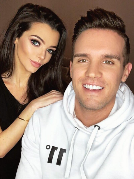Gaz Beadle and his bae