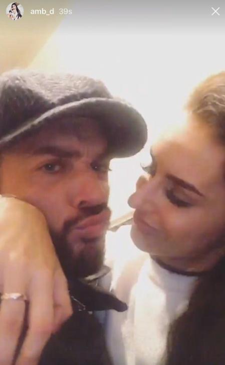Amber Davies and Pete Wicks