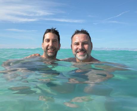 David Schwimmer and David Walliams