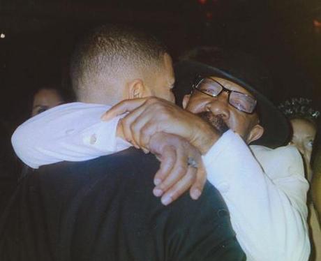 Drake and his dad