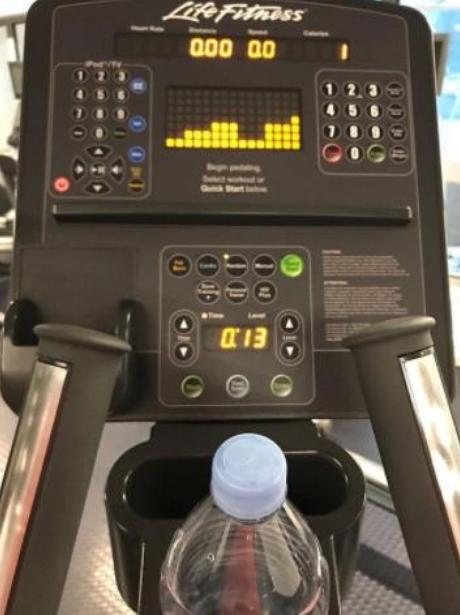 Gemma Collins in gym