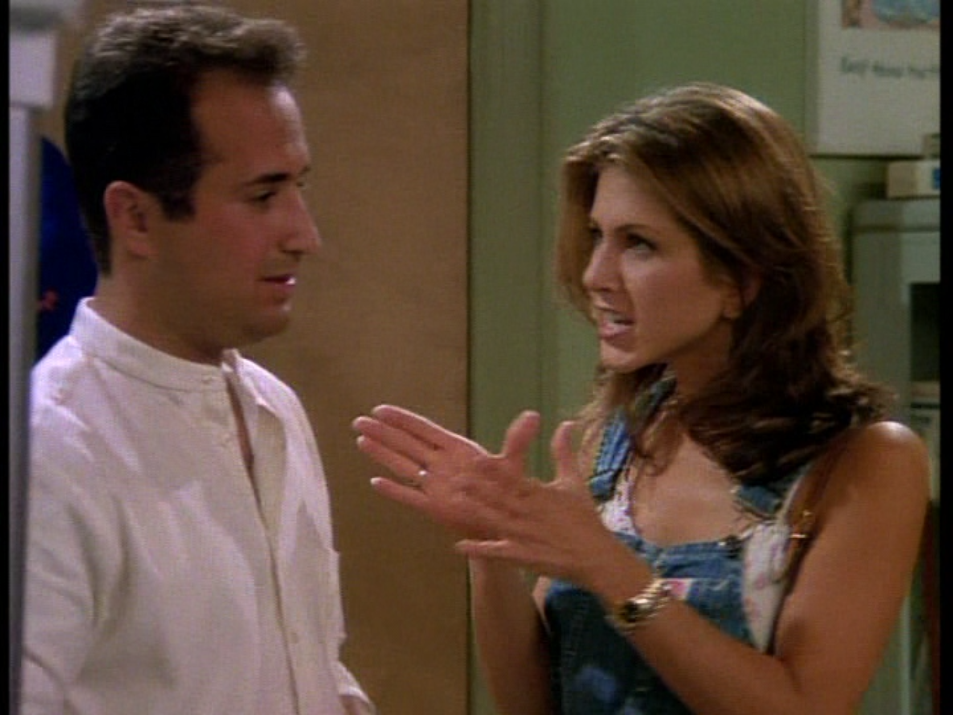 Rachel Green Barry 'Friends' Picture