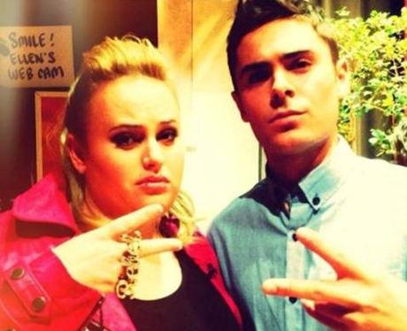 Rebel Wilson and Zac Efron throwback