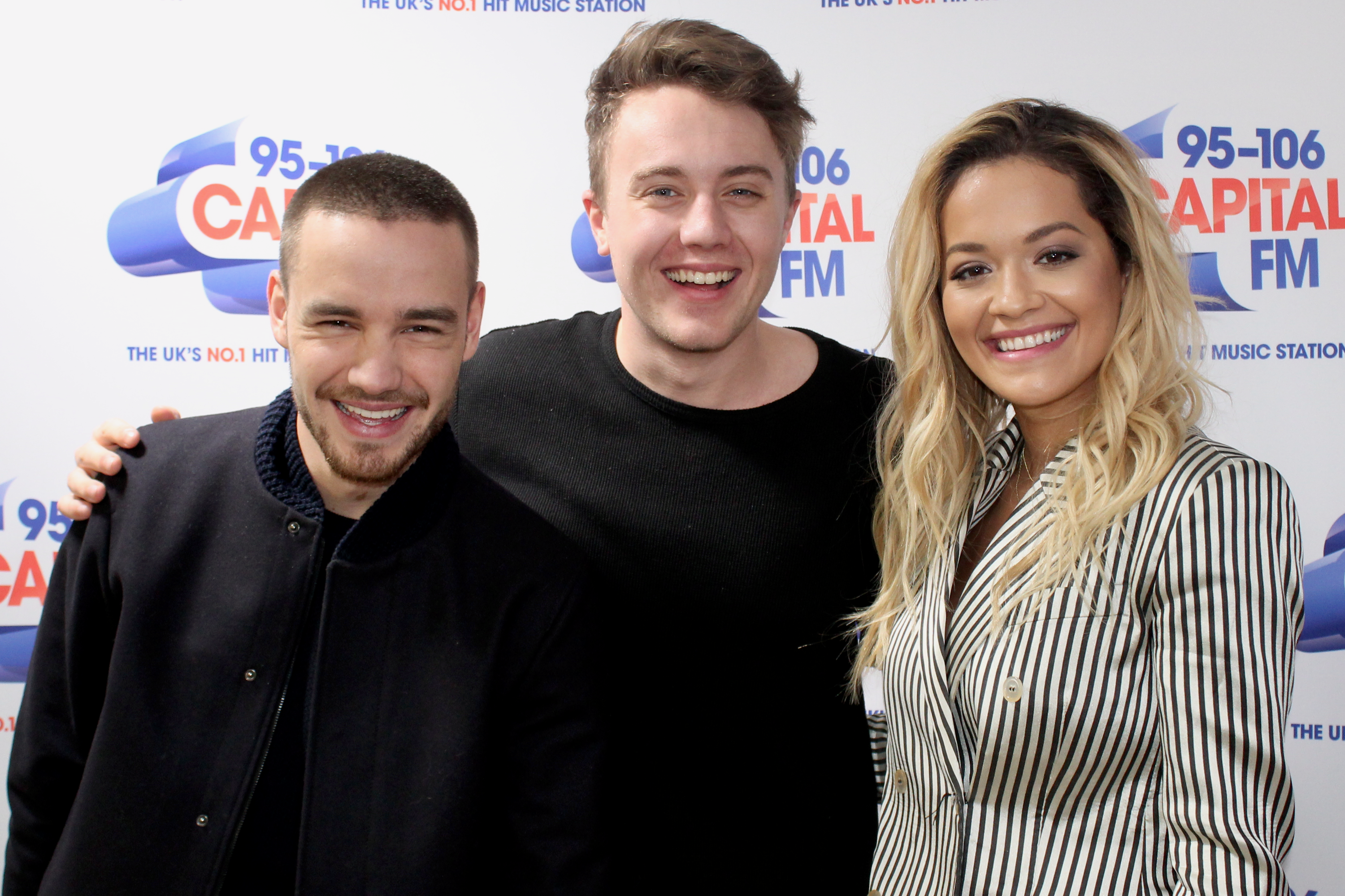 Rita Ora and Liam Payne on Capital Breakfast