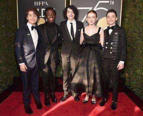 Stranger Things cast Golden Globes