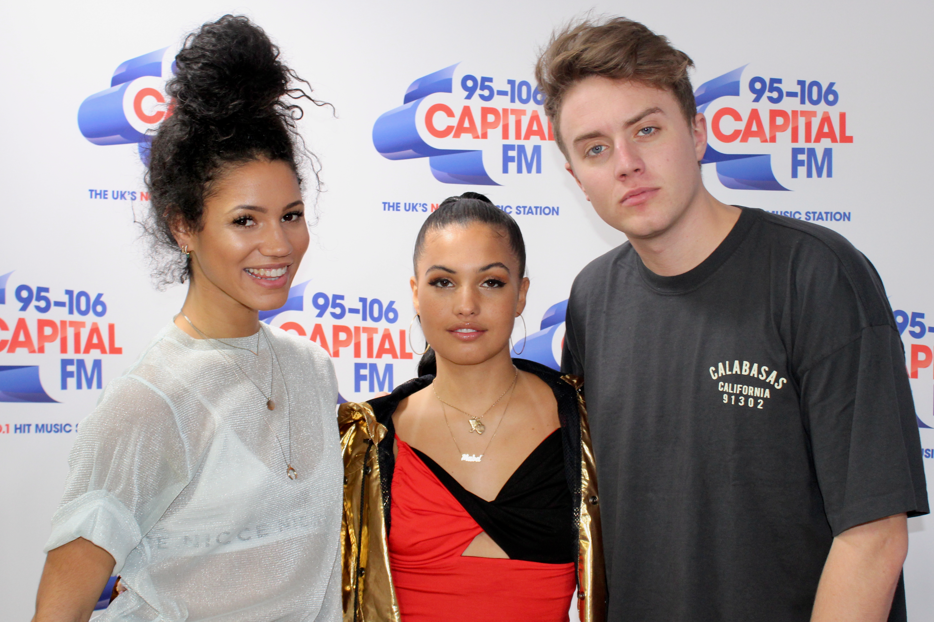 Mabel on Capital Breakfast w/ Roman Kemp and Vick Hope