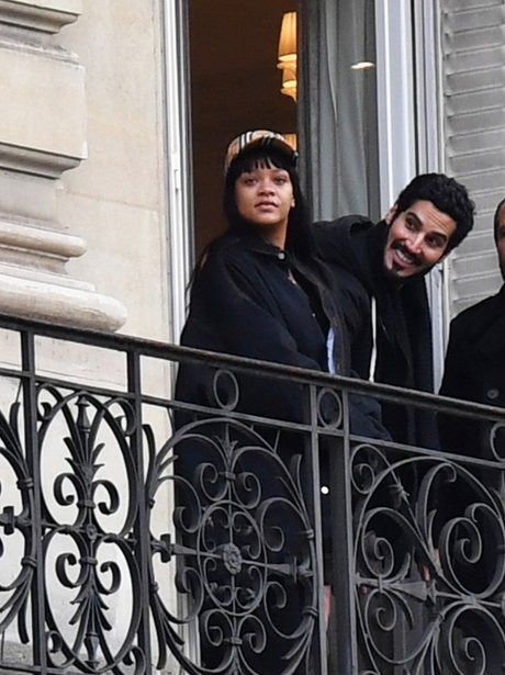 Rihanna and Hassan Jameel