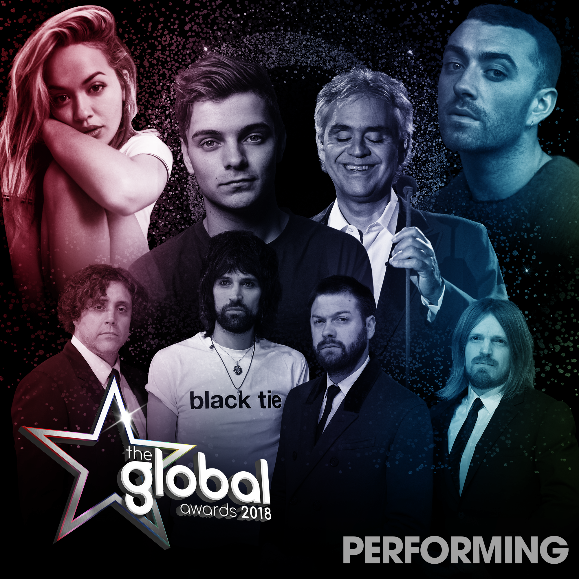 Global Awards 2018 Performers