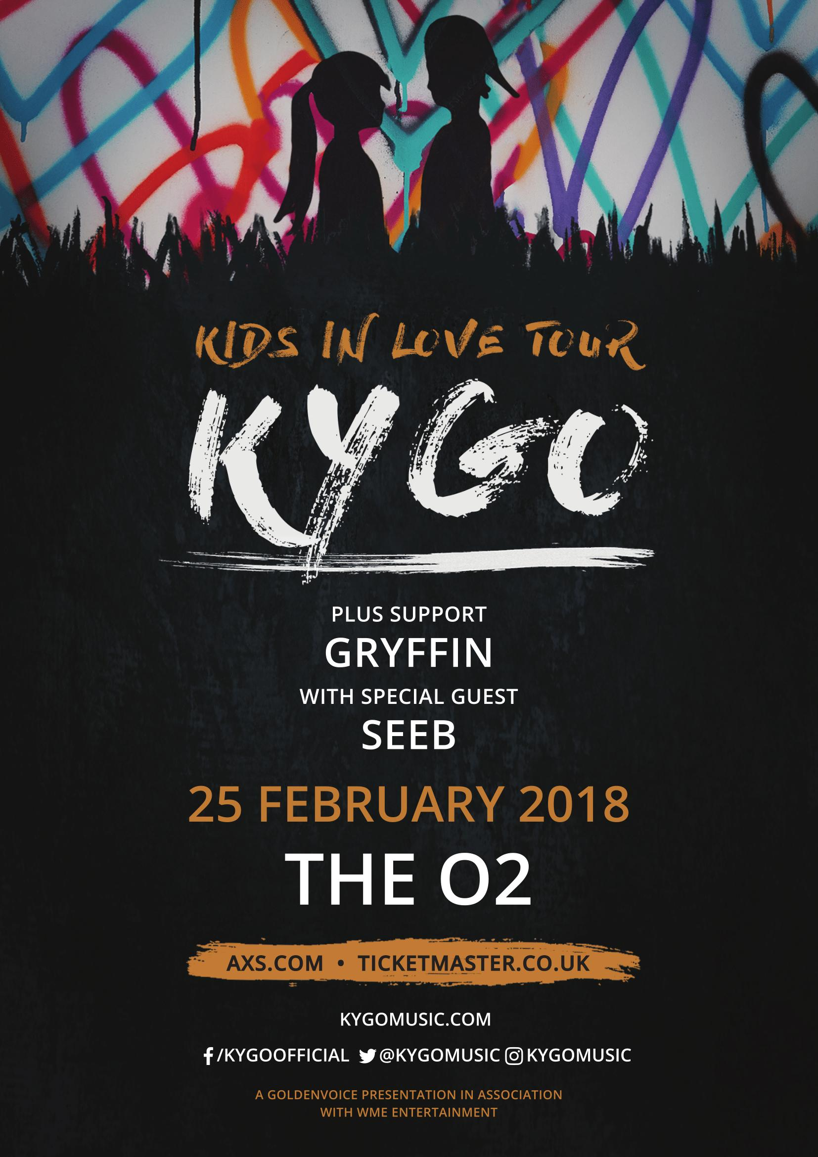 Kygo's London Tour Date