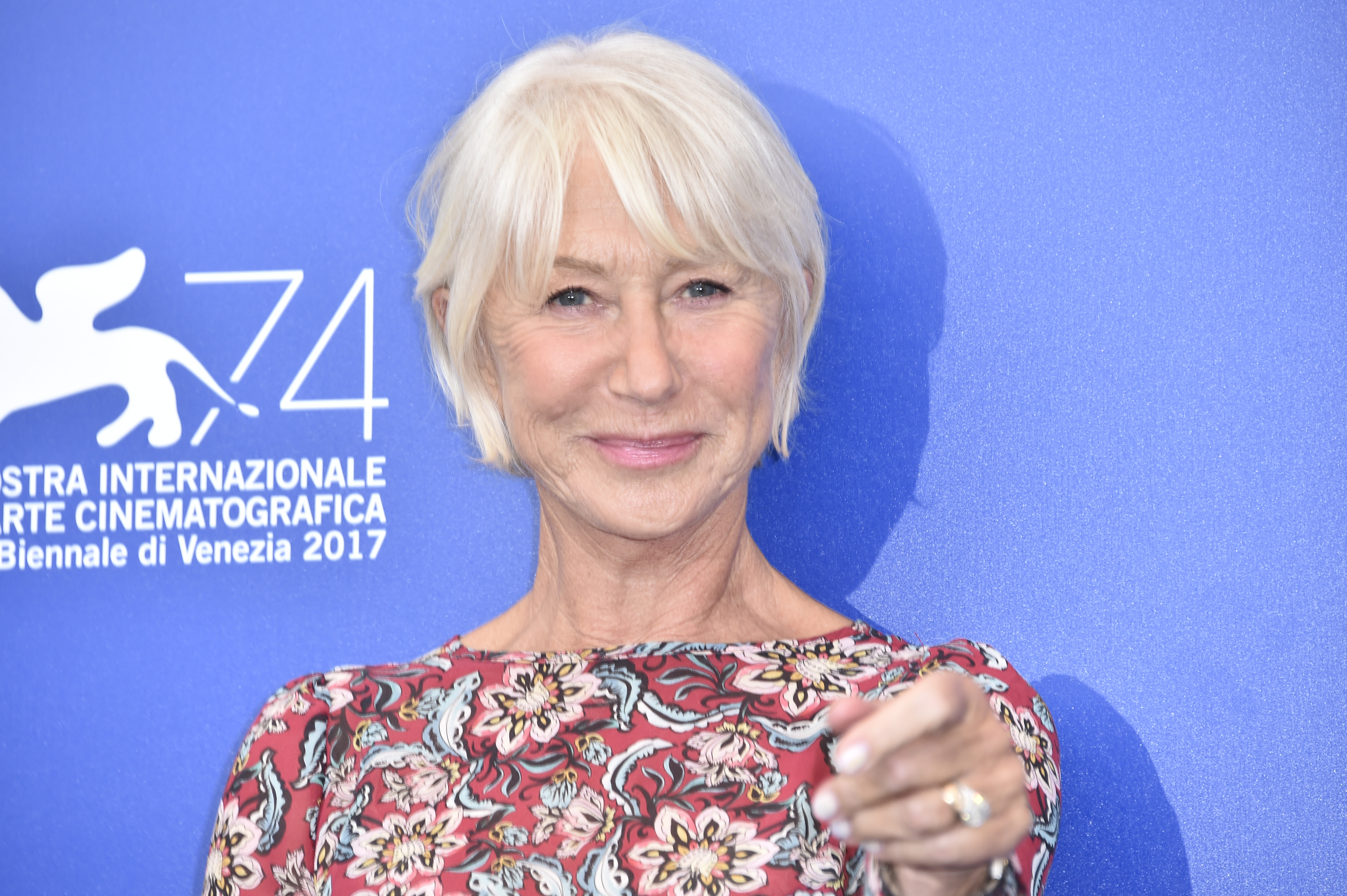 Helen Mirren 74th Venice Film Festival