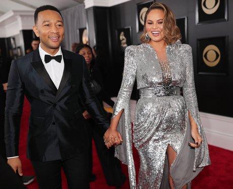 John Legend Chrissy Teigen Grammy Awards 2018