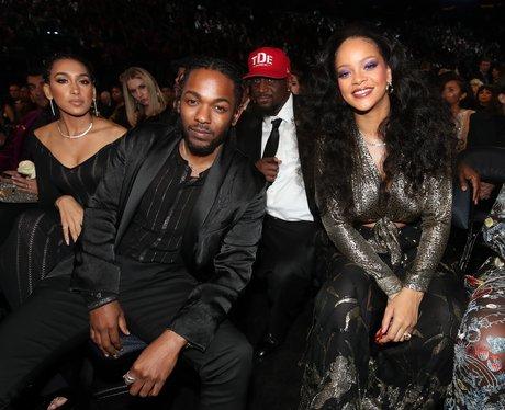 Rihanna Kendrick Lamar Grammy Awards 2018