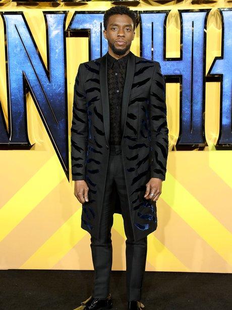 Chadwick Boseman Black Panther premiere