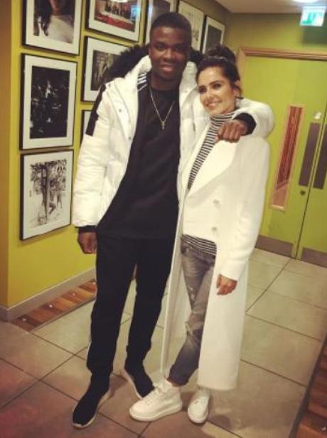 Cheryl and Big Shaq