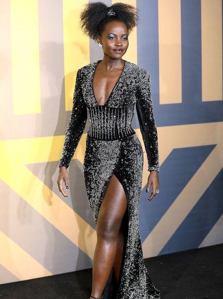 Lupita Nyongo Black Panther premiere