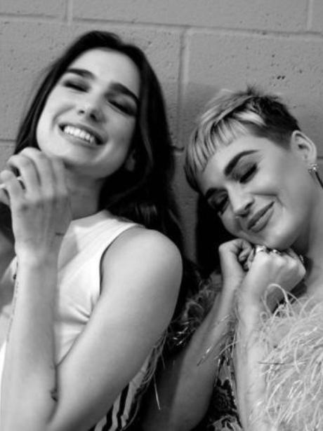 Dua Lipa and Katy Perry