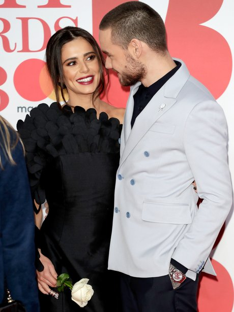 Cheryl and Liam Payne BRITs Awards 2018