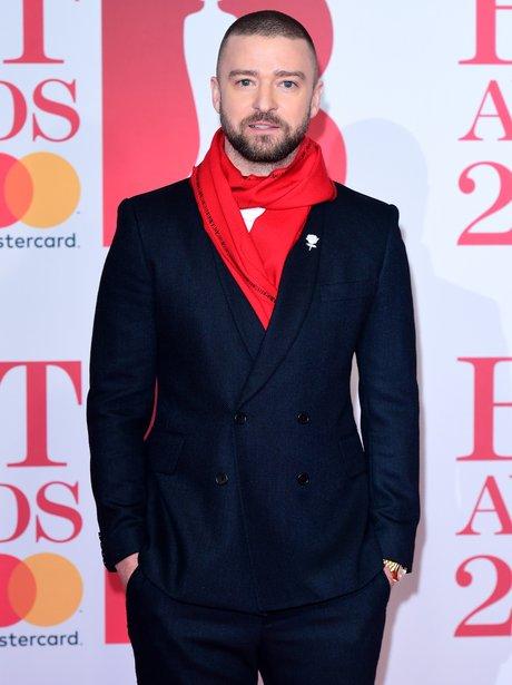 Justin Timberlake BRIT Awards 2018